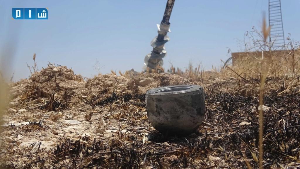 بالصور محطة مياة معرة النعمان خارج الخدمة بسبب القصف الروسي 24248c10