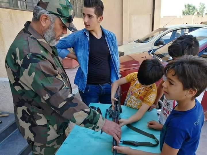 في تجاوز جديد لقرارات الأمم المتحدة بشار يدرب أطفال سوريا على السلاح 9b332710