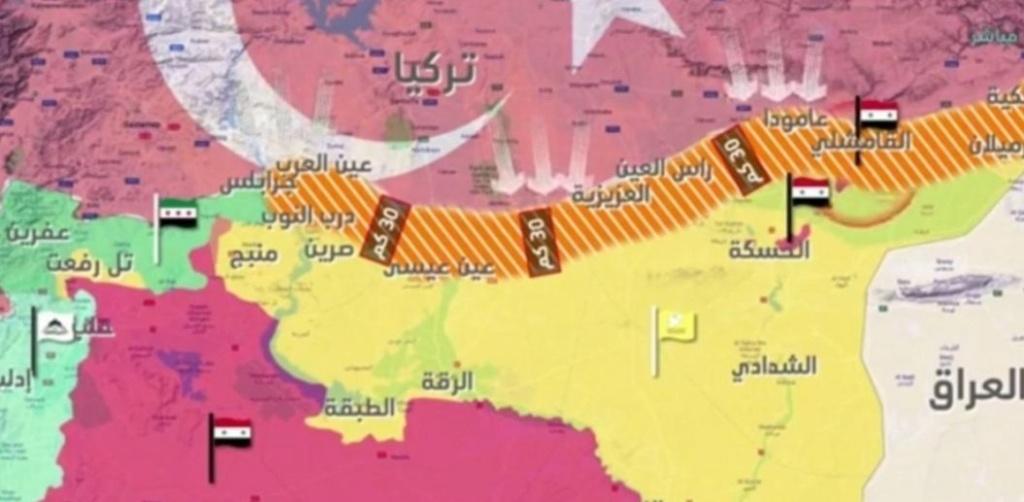 اردوغان منطقة آمنة بعمق 40 كم  كيف وشلون ؟ F934b910