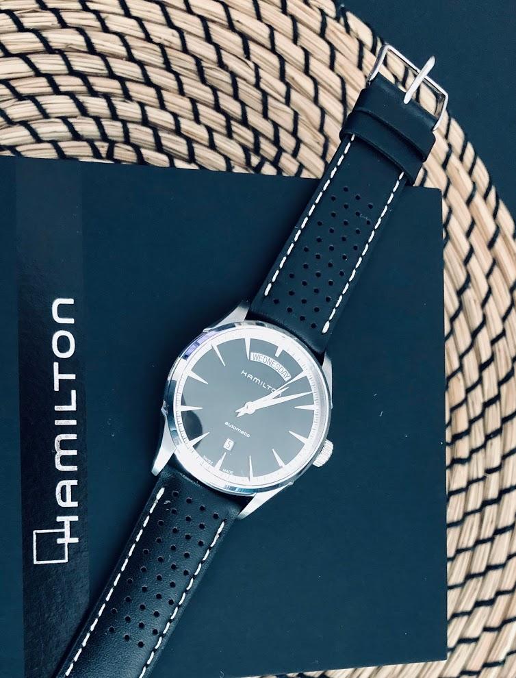 [Baisse de prix][Vends] HAMILTON H42565131 - Jazzmaster Day Date Auto - 600€ Img_2911