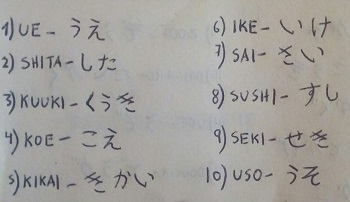 *CLASE 6* Hiragana filas K y S (puedes ganar PS) Img_2013