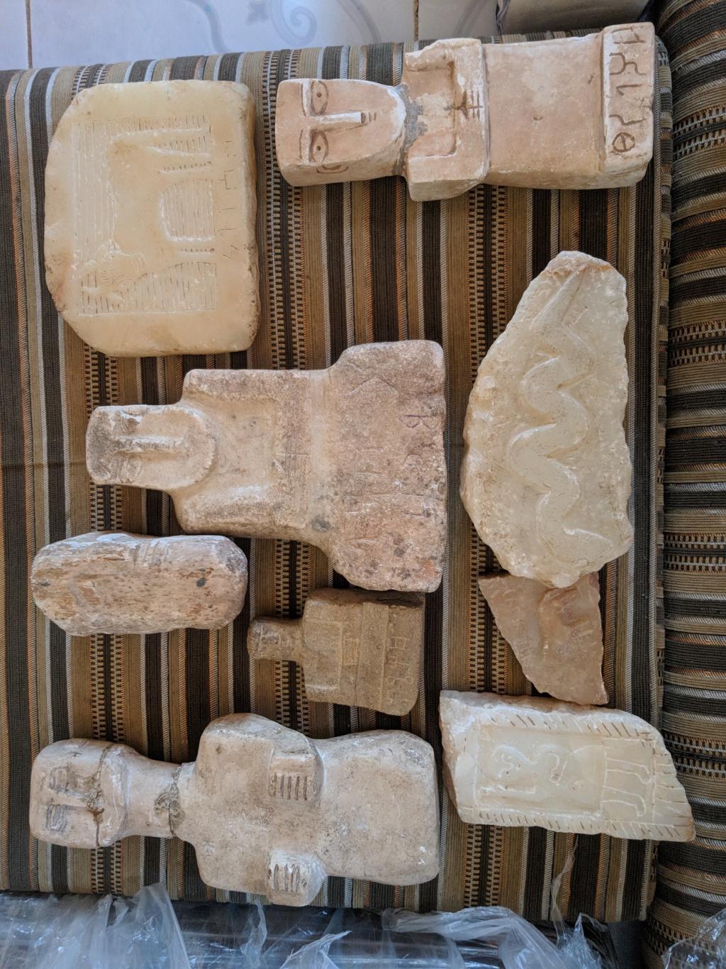 احجار وتماثيل منقوشه  Img_2014