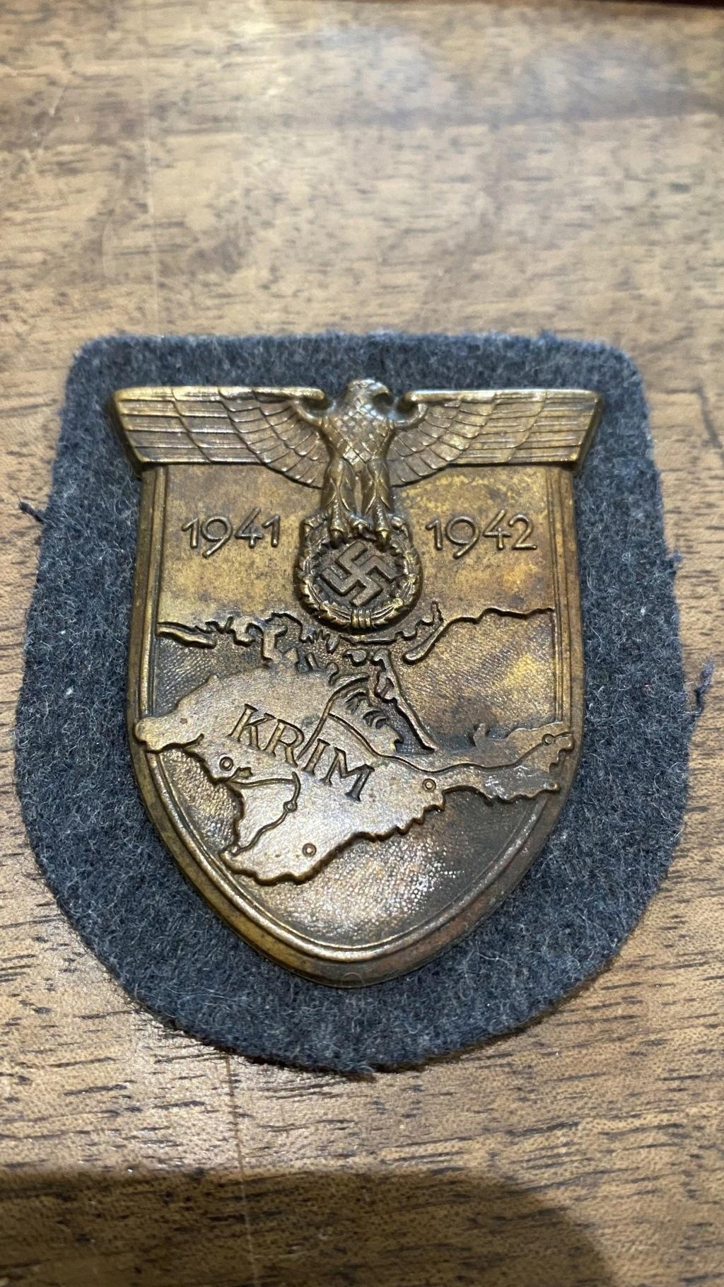 Authentification médaille allemande  E39e7410