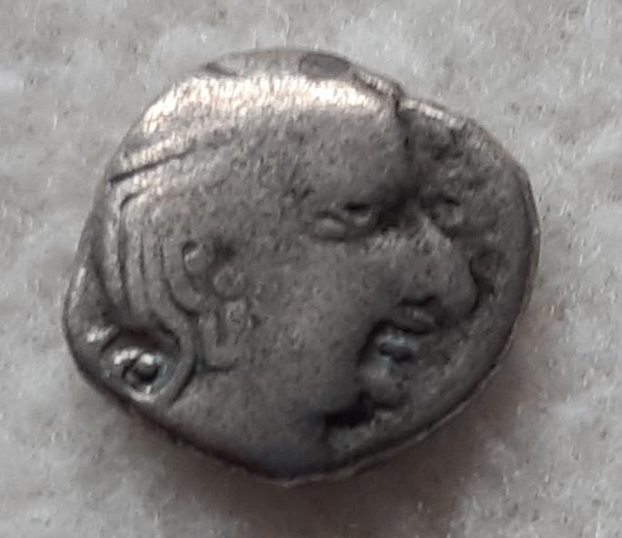 Gupta, dracma, Kumaragupta I 414-455 d.C. 20191110