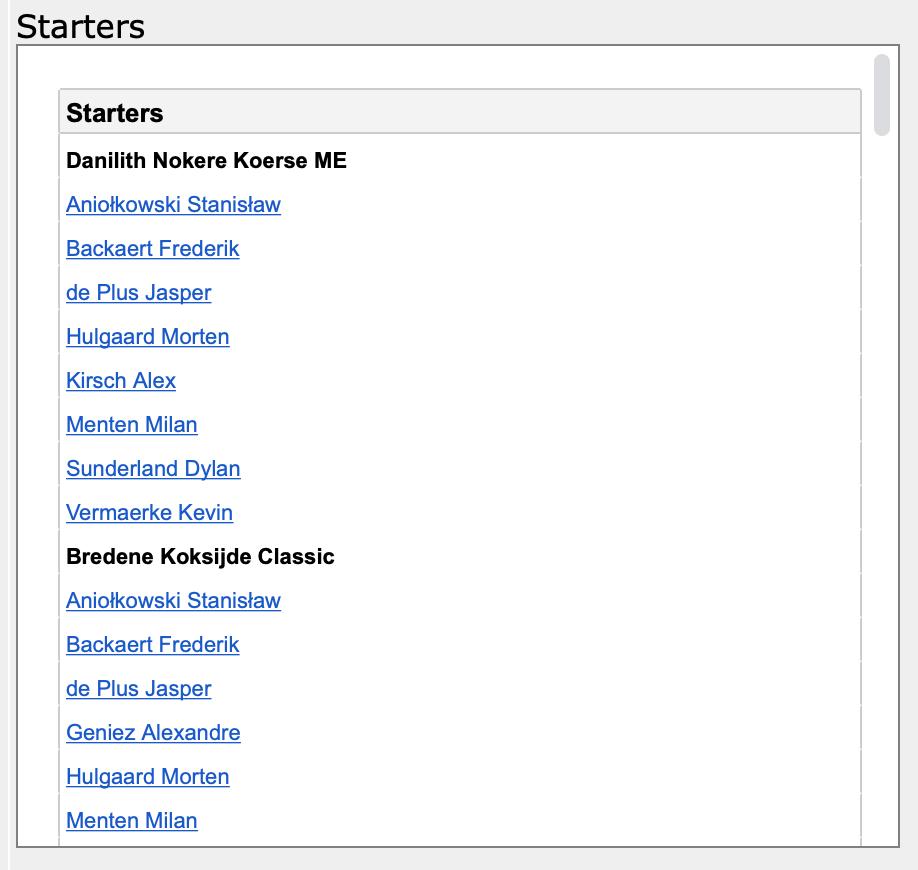 (UPDATE 25-3!) Teampagina's - avatar's, transfers en startlijsten Screen30