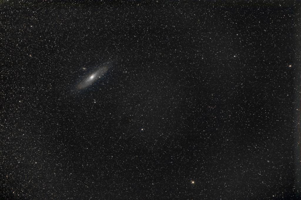 Andromède en deux séances M31_2010