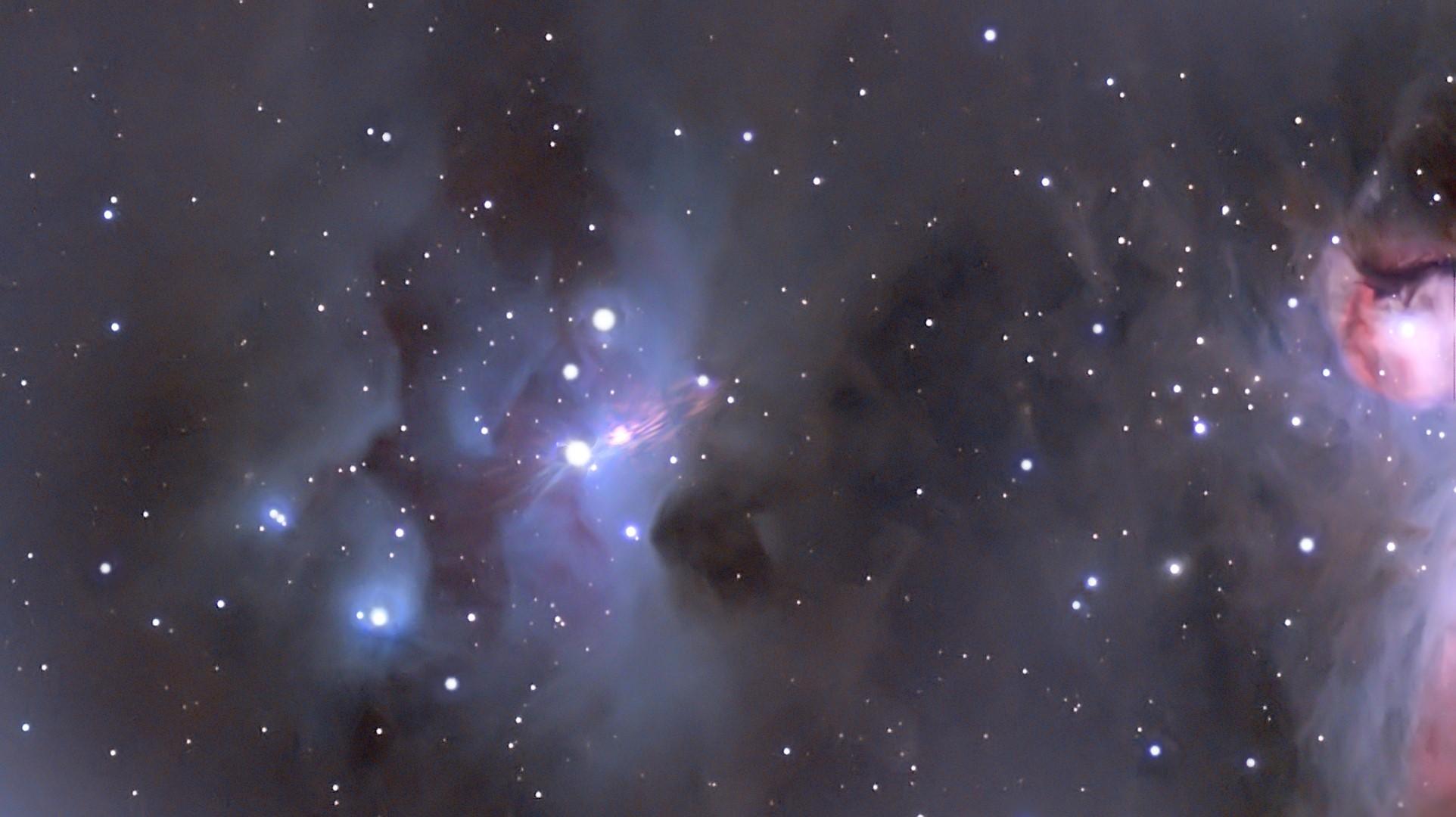 Bonne année depuis Orion.  M432_f10