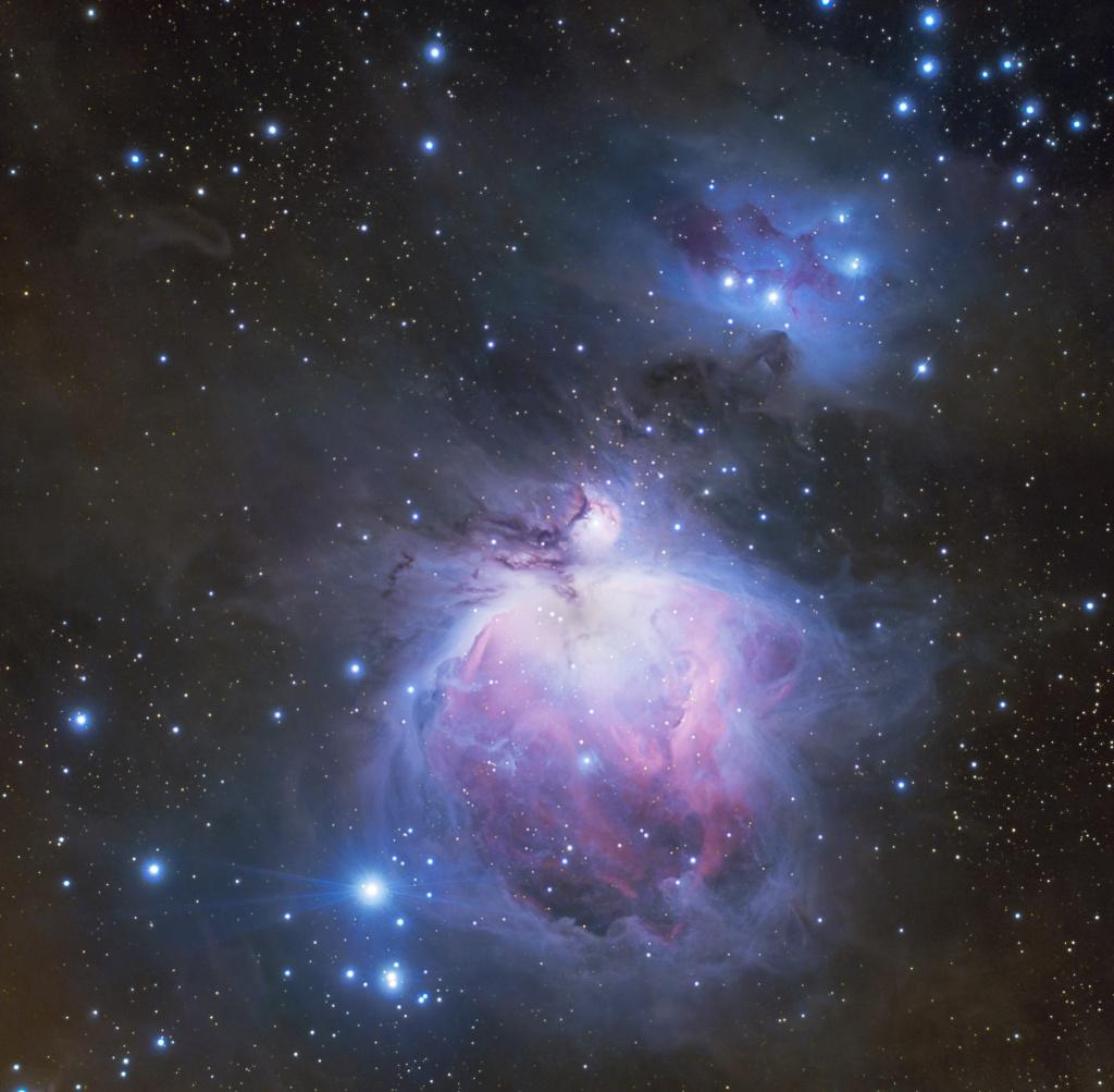 M42 : ma première photo CP à la cam astro : ZWO ASI533MC Orionf11