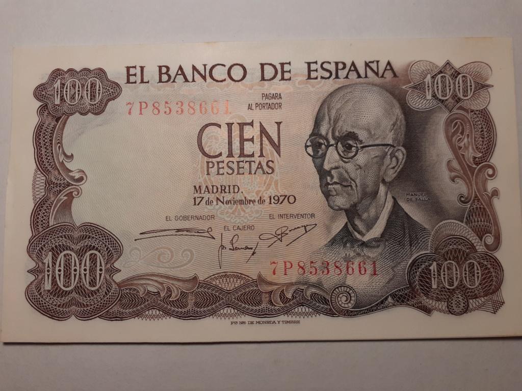 Serie 10 billetes s/c 20200212