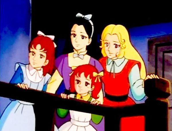 [Alcott, Louisa May] Les quatre filles du Dr March Pi110
