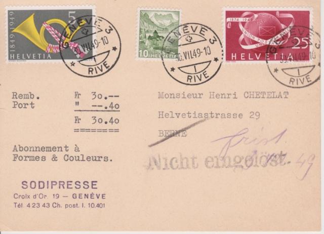 SBK 295 (Mi 523) Weltkugel und Brief Image_19