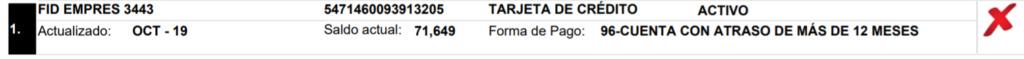 Deuda Santander/Secorse/Fid 34 Carta de Acuerdo 310