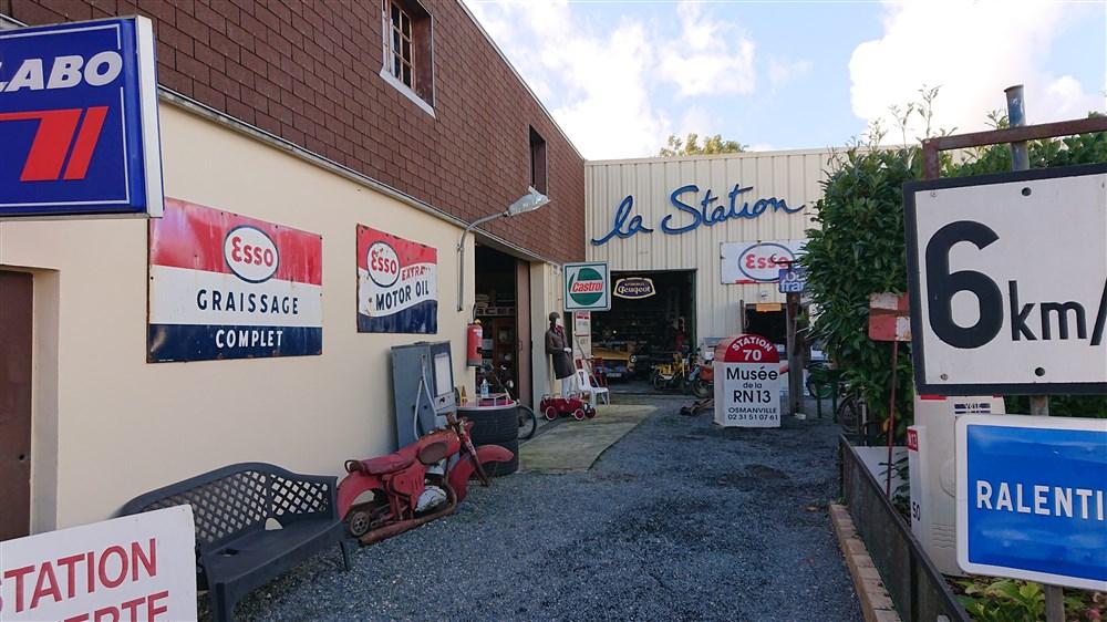 Station 70 musée N13 à Osmanville Dsc_1411