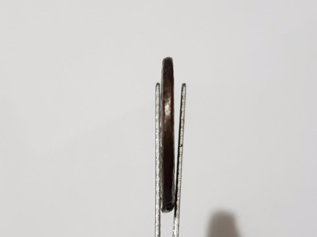 Nummus de Maximino II Daza. GENIO IMPERATORIS. Genio estante a izq. Alejandría. 20200511