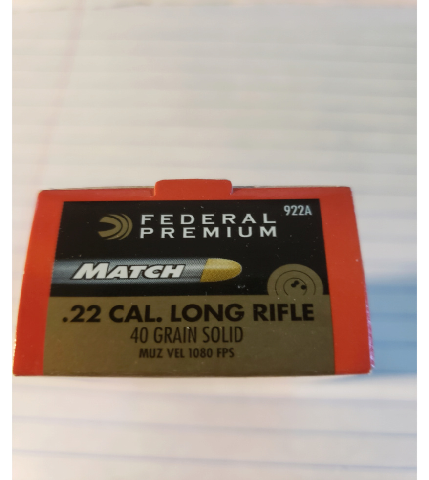 WTS Federal .22 and .45 Match Ammo - SOLD Fed22s11