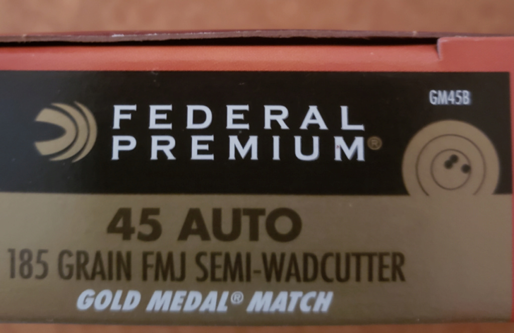 WTS Federal .22 and .45 Match Ammo - SOLD Fed45s11
