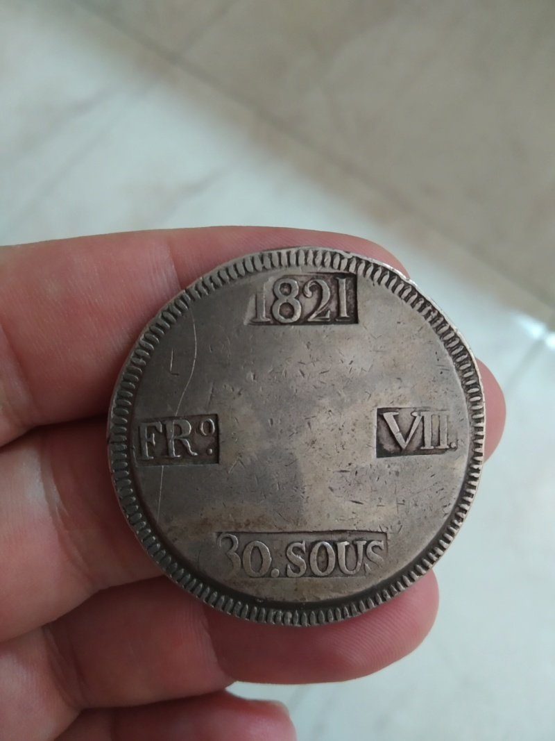 30 sous 1821. Fernando VII Img_2027