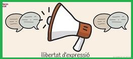 ¿Tu creus que a Espanya es respecta la llibertat d'expressió? Lliber11