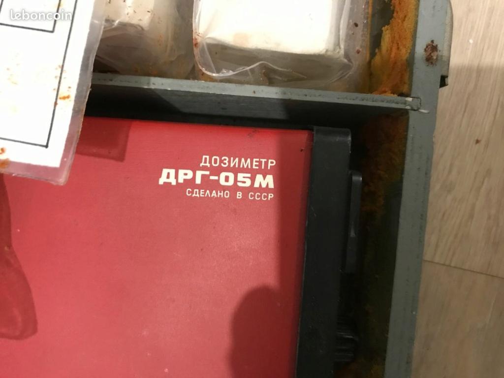ancien scintillomètre Russe modèle DRG-05M Drg-0510