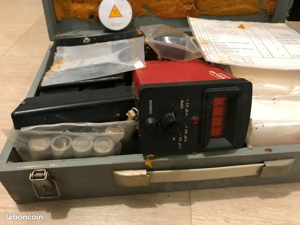 ancien scintillomètre Russe modèle DRG-05M Drg-0511