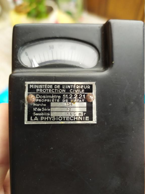 Ancien dosimètre (La Physiotechnie) 160mR - HELP please. Img_2013