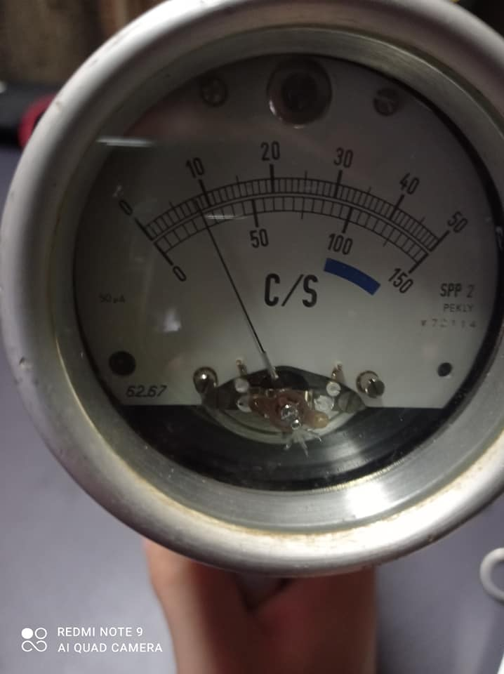 Problème Scintillomètre SAPHYMO STEL SPP2 Saphym10