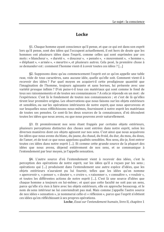 2 - Locke : sensation et réflexion Locke_11