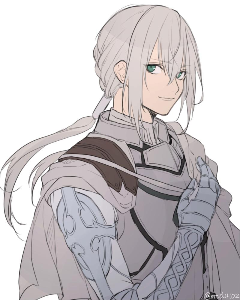 """Tercera invocación de Rimuru Tempest: """"¿Por qué todos mis servants son clase saber?"""" (Bedivere, Arturia) Bedive10"""