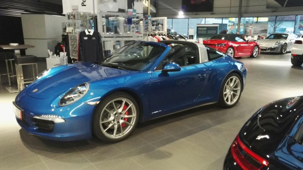 Porsche 991 Targa 4 S  à vendre  Showro10