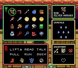 Inventory and menu screen edit Invent13