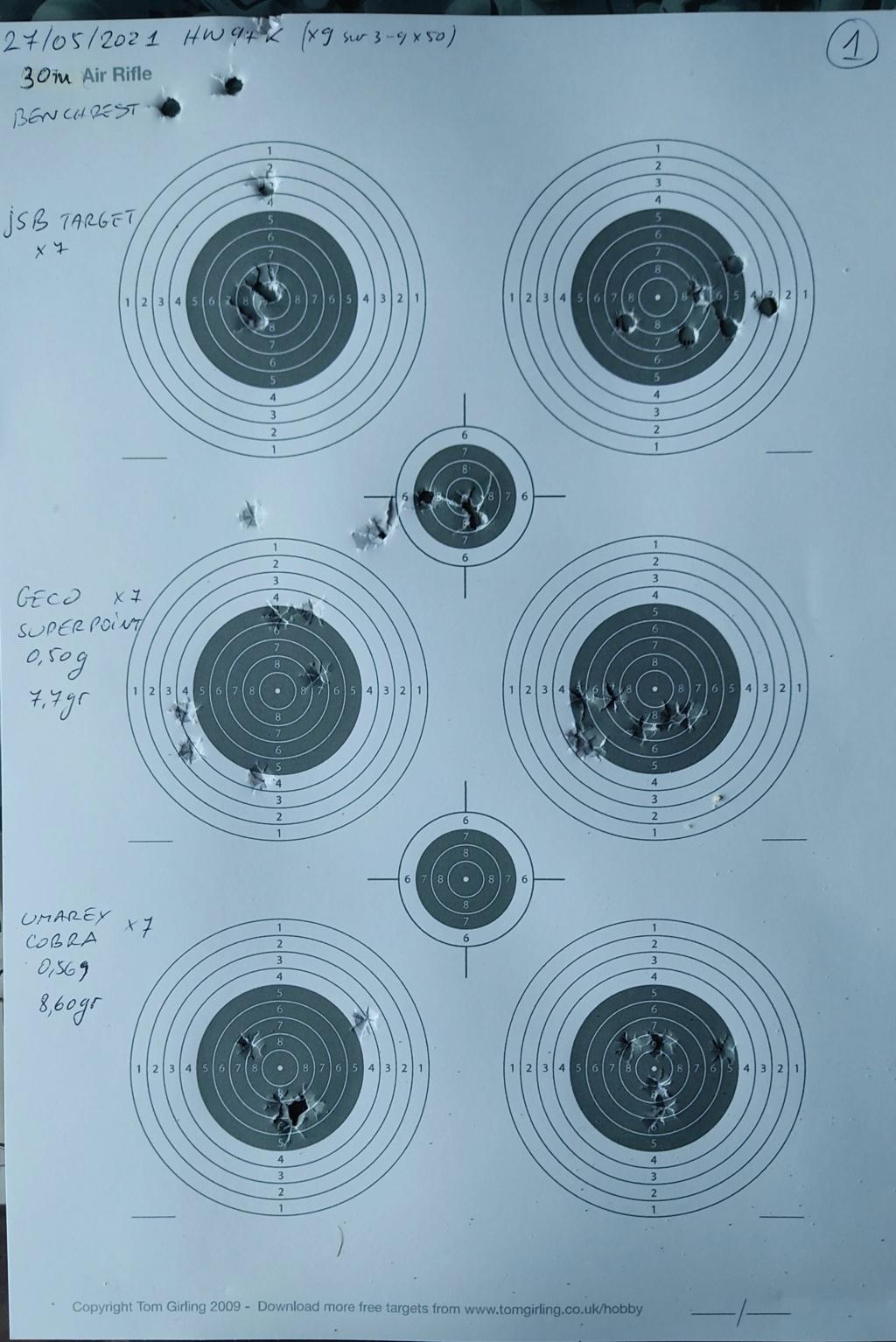 GECO 4,5mm / .177 + trois autres dans  HW97K  - Page 3 Img_2082