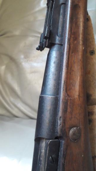 Berthier 07/15 avec canon 1892, culasse droite. 20210818