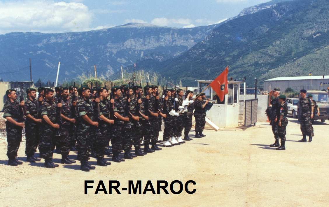 Les F.A.R. en Bosnie  IFOR, SFOR et EUFOR Althea Clipb184