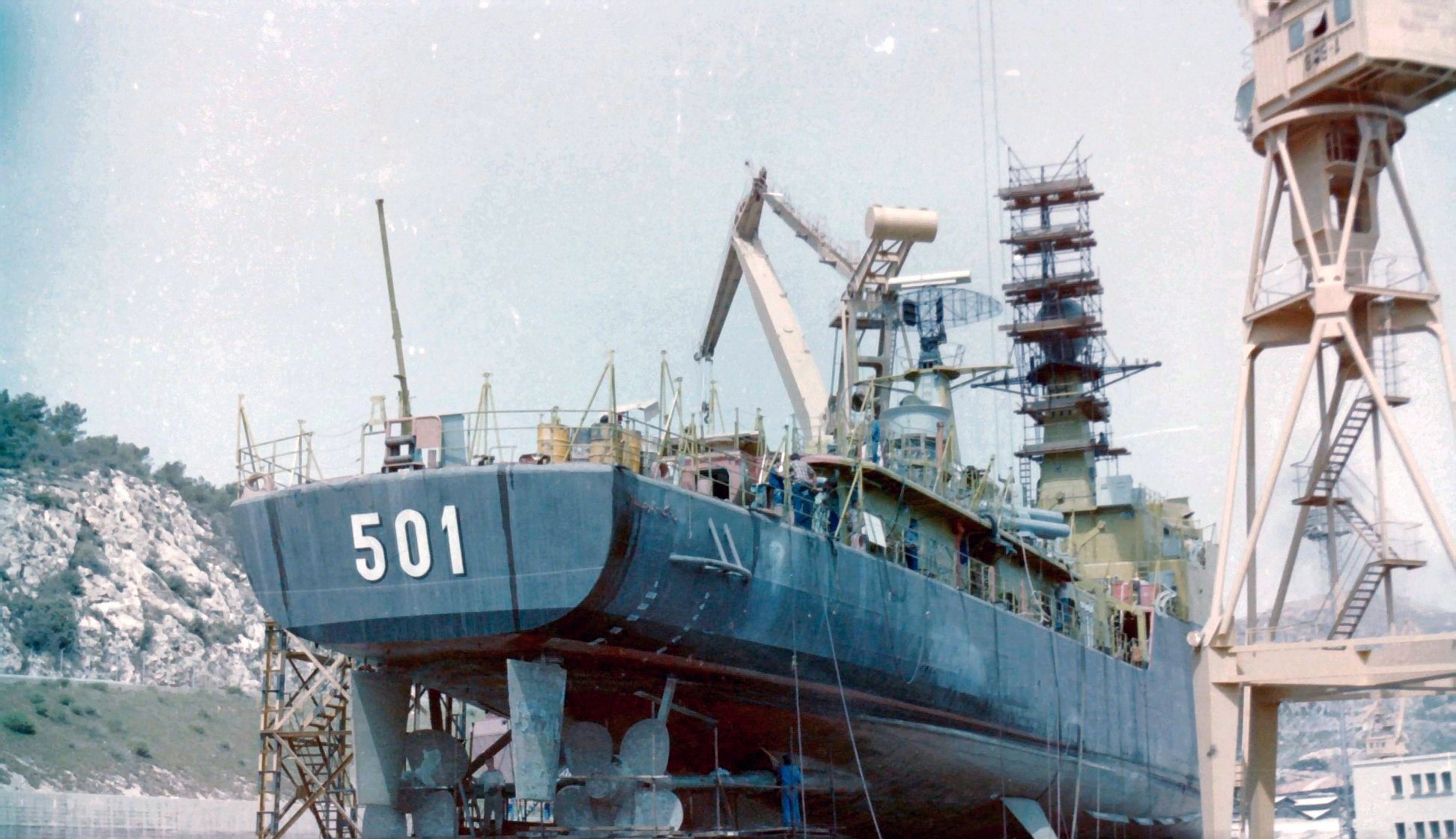 Royal Moroccan Navy Descubierta Frigate / Corvette Lt Cl Errahmani - Bâtiment École - Page 4 Clipb494
