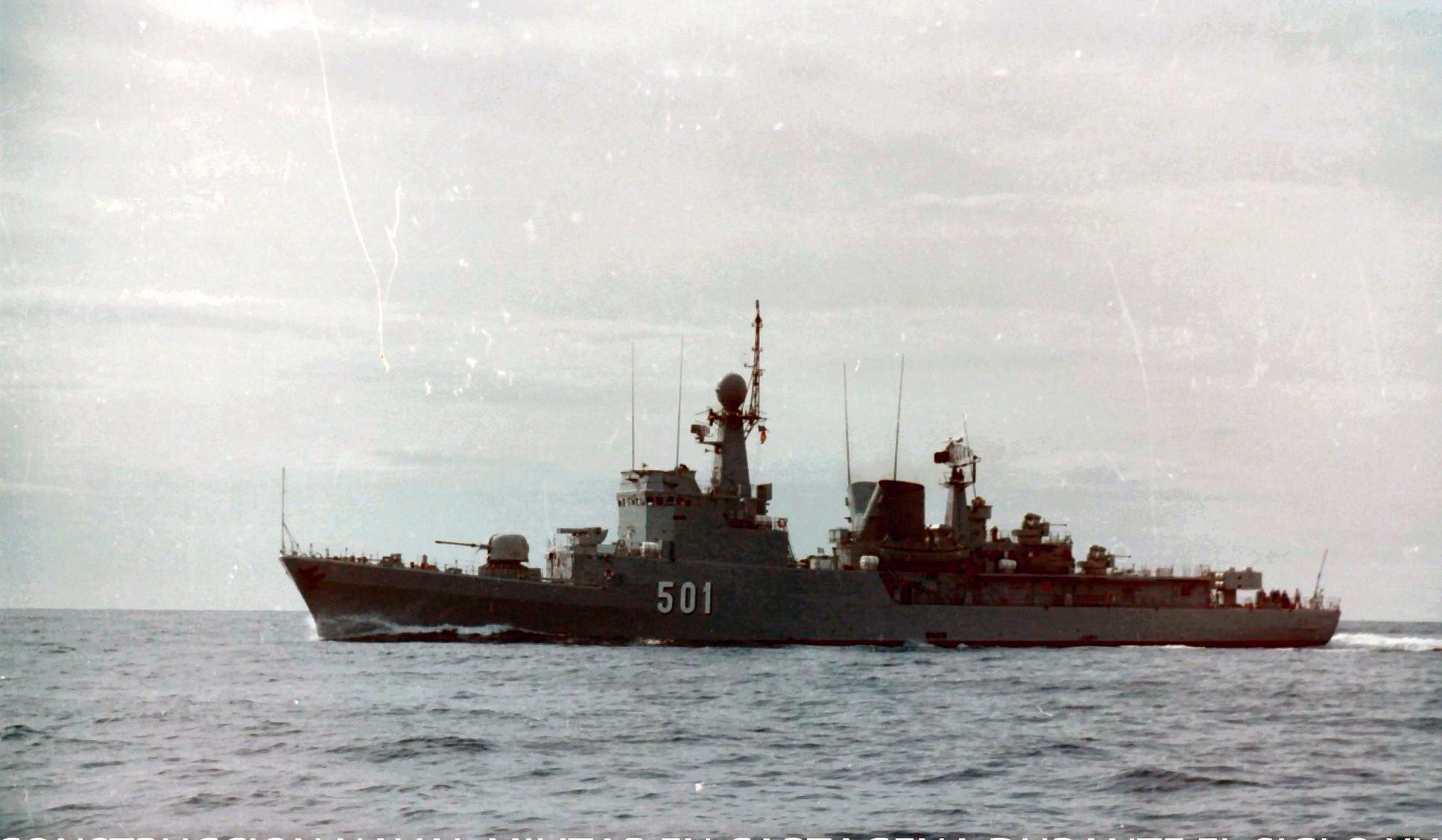 Royal Moroccan Navy Descubierta Frigate / Corvette Lt Cl Errahmani - Bâtiment École - Page 4 Clipb512