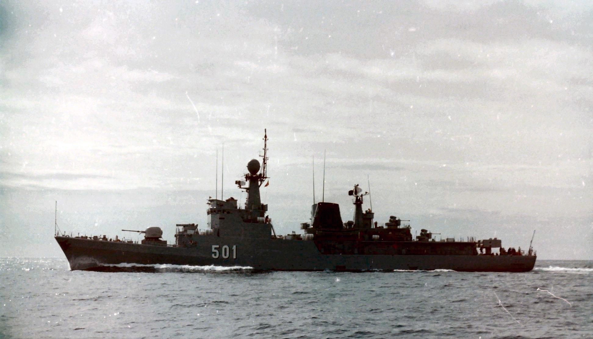 Royal Moroccan Navy Descubierta Frigate / Corvette Lt Cl Errahmani - Bâtiment École - Page 4 Clipb513