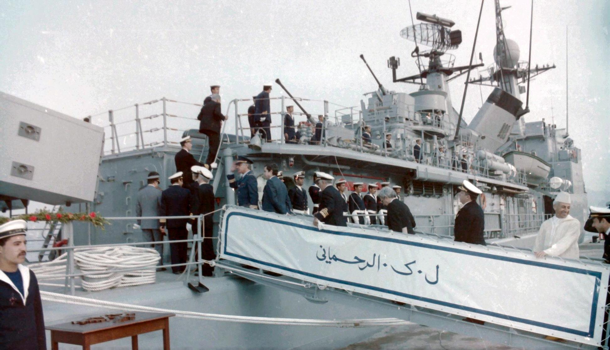 Royal Moroccan Navy Descubierta Frigate / Corvette Lt Cl Errahmani - Bâtiment École - Page 4 Clipb530