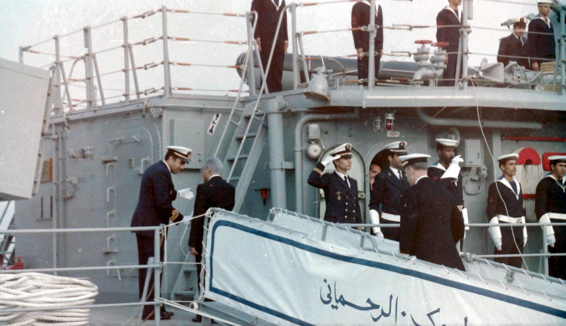 Royal Moroccan Navy Descubierta Frigate / Corvette Lt Cl Errahmani - Bâtiment École - Page 4 Clipb531
