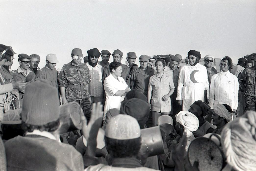 Les FAR durant la Marche Verte 1975 Clipbo38