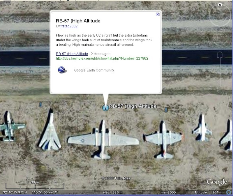 Cimetière d'avions, Tucson, Arizona [C'est quoi ?] Ecrids10