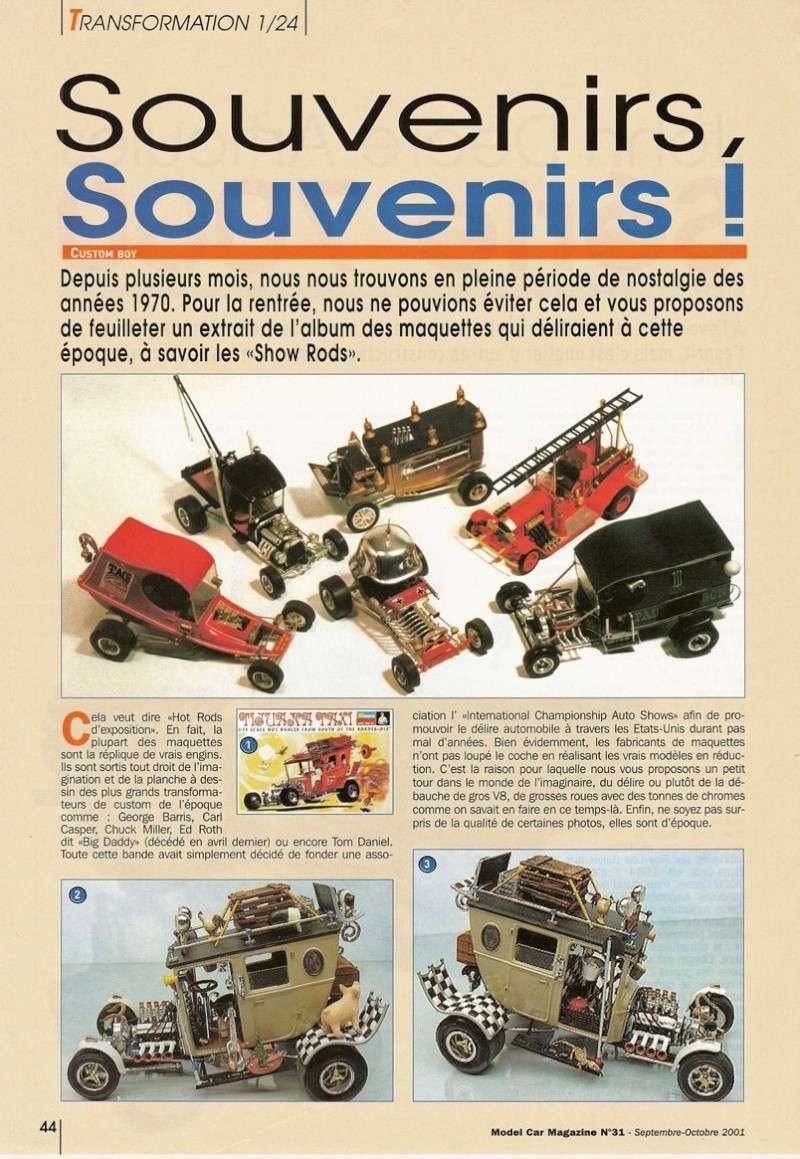 """Article Model Car Magazine : les """" show rods """" Showro10"""