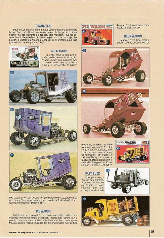 """Article Model Car Magazine : les """" show rods """" Showro11"""