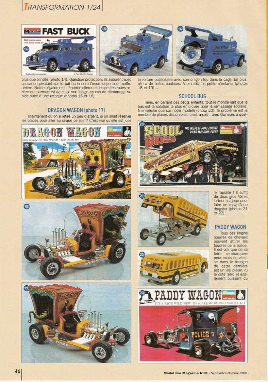 """Article Model Car Magazine : les """" show rods """" Showro12"""