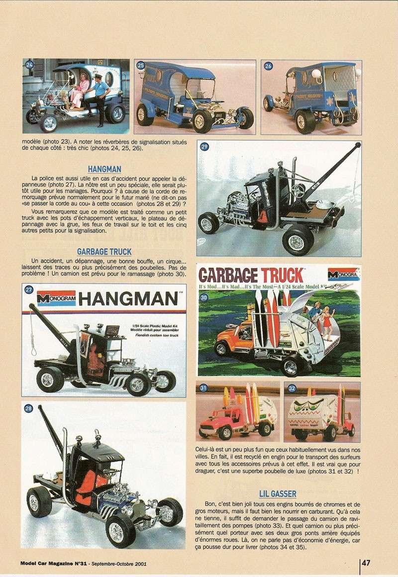 """Article Model Car Magazine : les """" show rods """" Showro13"""