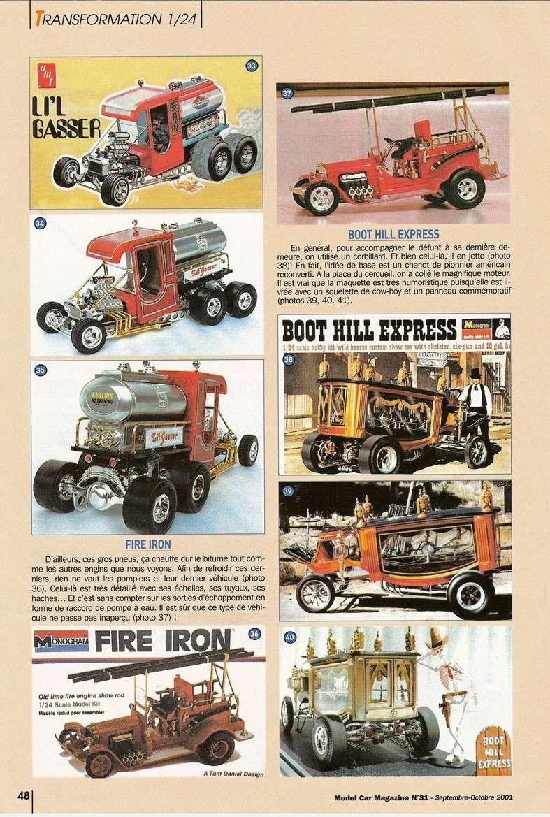 """Article Model Car Magazine : les """" show rods """" Showro14"""