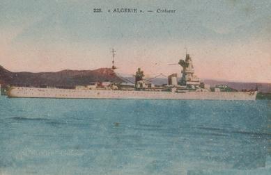 FRANCE CROISEUR LOURD ALGERIE Algeri12