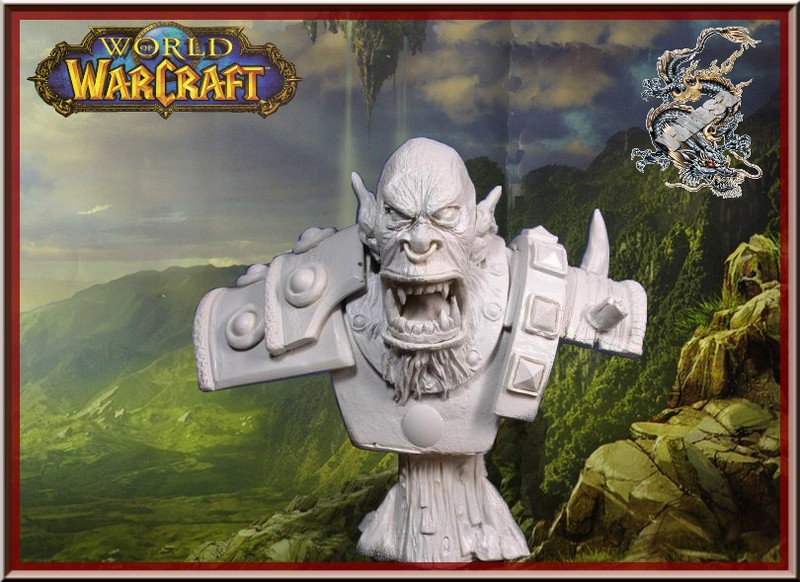 "orc ""world of warcraft "" 1/6 Decor_10"