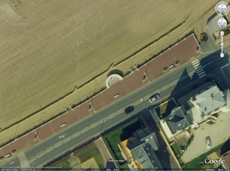 Méridien de Greenwich au travers de Google Earth Meridi10