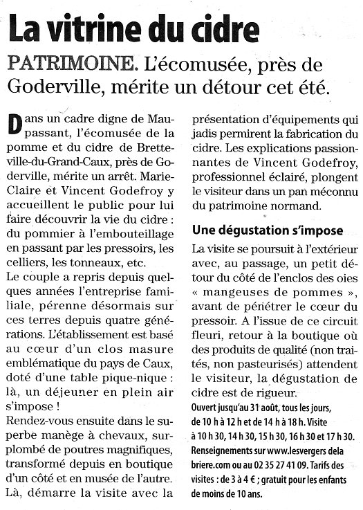 Bretteville-du-Grand-Caux - La vitrine du cidre Brette10