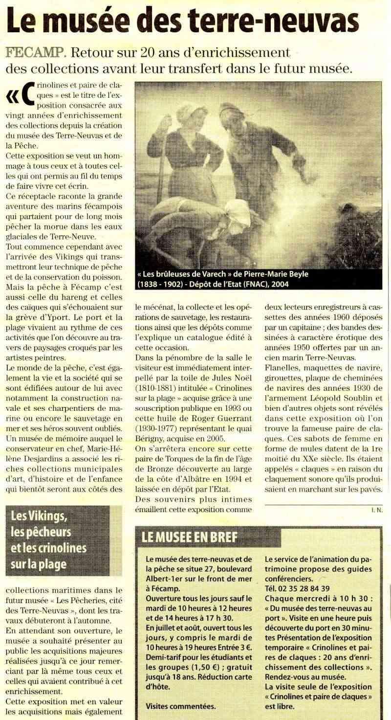Fécamp - Le Musée des Terre-Neuvas Fecamp10